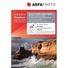 Hartie AGFA 4R ( 10x15 ) Glossy single side 240g/mp 100 coli/pachet