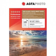 Hartie AGFA 4R ( 10x15 ) RC (resin coated, microporous) ULTRA Glossy single side 260g/mp pachet 100 coli