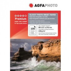Hartie AGFA 5R ( 13x18 ) Glossy single side 240g/mp 100 coli/pachet