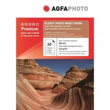 Hartie AGFA A4 Glossy single side 210g/mp 20 coli/pachet