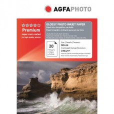 Hartie AGFA A4 Glossy single side 240g/mp 20 coli/pachet