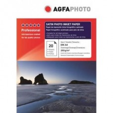 Hartie AGFA A4 RC (resin coated, microporous) ULTRA Glossy SATIN single side 260g/mp pachet 20 coli