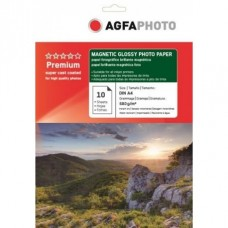 Hartie AGFA A4 Magnetic Glossy single side 680g/mp pachet 10 coli