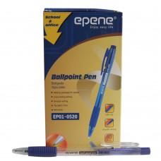 Pix cu mecanism 1.0mm EPENE rubber grip - albastru
