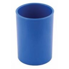 Suport instrumente de scris ARK 566, cilindru plastic albastru