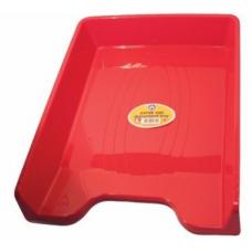 Tavita documente A4 ARK 350, plastic rosu mat