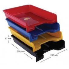 Tavita documente A4 ARK 350, plastic albastru mat