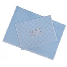 Hartie milimetrica A4 ROM, albastru, 100 coli/top