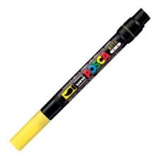 Marker pensula UNI Posca Brush PCF-350, K, galben