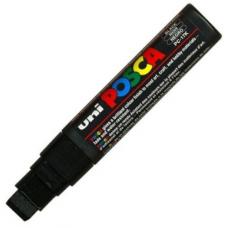 Marker UNI PC-17K Posca 15.0 mm,varf tesit, negru