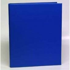 Caiet mecanic 2 inele - D25mm, coperti carton plastifiat PVC, A4, AURORA - albastru