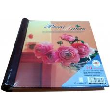 Album foto 40 pagini adezive, coperta PVC, 18x24,5 cm