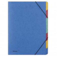 Separatoare carton color cu elastic pe colturi, A4, 500g/mp, 7 culori/set, DONAU