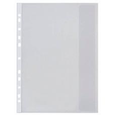 Folie de protectie A4 130 microni NOKI,cu perforatii si clapa 4860 set de 25