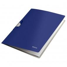 Dosar cu clip LEITZ Style ColorClip Professional - albastru/violet